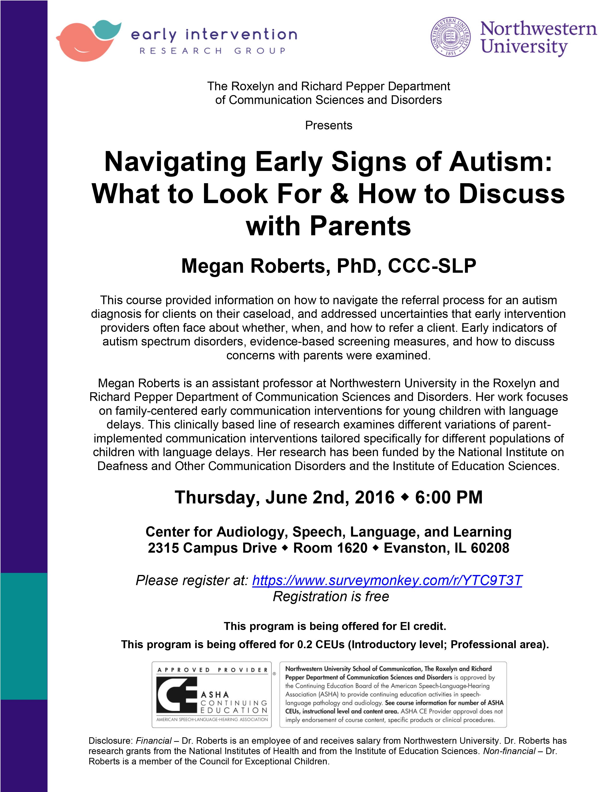 First Signs Autism WallsKid